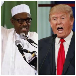 Donald Trump and Buhari