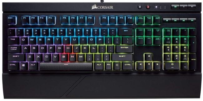 Corsair K68 Full Size Mechanical Keyboard for Gaming and Programming.