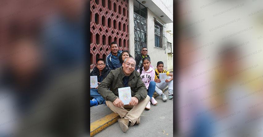 Solo con la Educación podemos tener un país libre de tantos males sociales (Luis Vásquez Terrones) ENTREVISTA | LaRepublica.pe