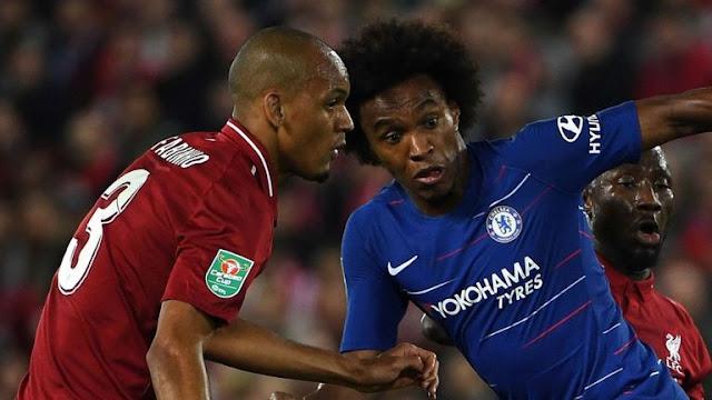 Liverpool Vs Chelsea Carabao EFL CUP