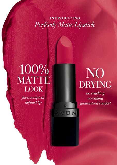 Introducing AVON True Colour Perfectly Matte Lipstick!