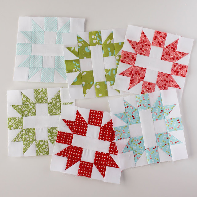 Free pattern for these adorable Star & Cross quilt blocks
