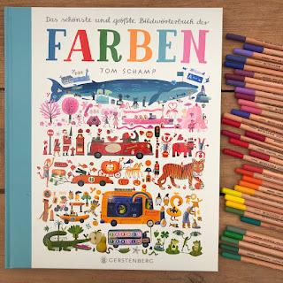 """""""Das schönste und größte Bilderwörterbuch der Farben"""" von Tom Schamp, Gerstenberg Verlag"""