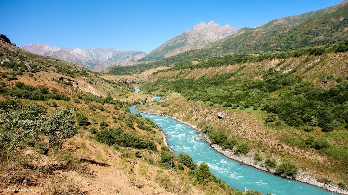 Пскем : участок дороги пред Каракызсаем