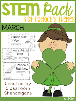 https://www.teacherspayteachers.com/Product/STEM-March-St-Patricks-Theme-Pack-FREE-2390222