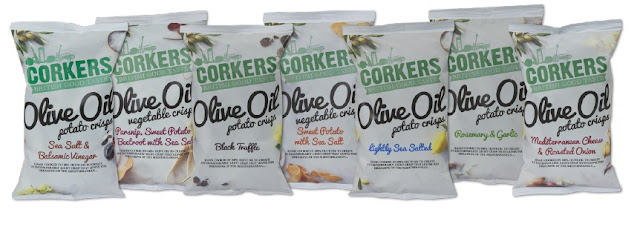 Corkers New Olive Oil Potato Crisps
