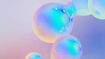 Abstract, Colorful, Bubbles, Digital Art, 4K, #4.289
