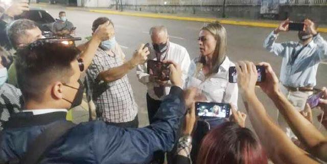SE PRESENTÓ SITUACIÓN IRREGULAR EN VIVIENDA DE LA PERIODISTA MILDRED MANRIQUE