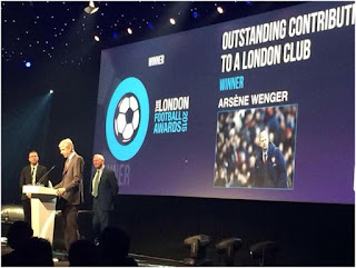 Arsene Wenger Booked for Lifetime Achievers Award
