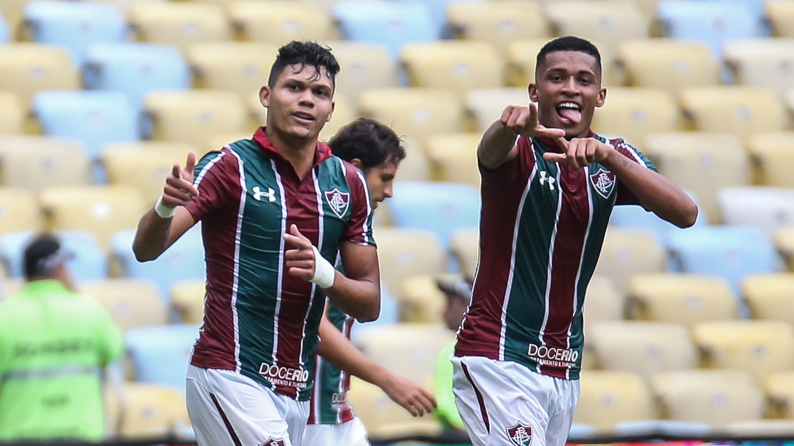Resultado de imagem para Trio do Flu fez 16 gols em 2020