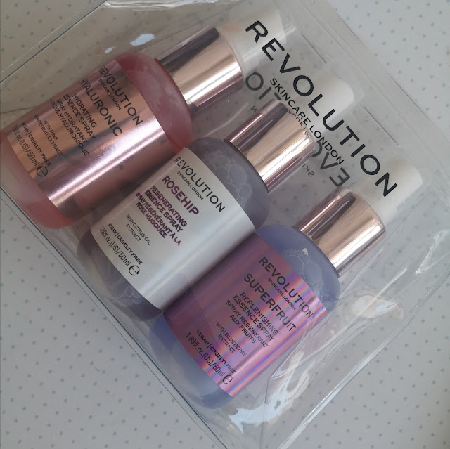 set de sprays de Revolution