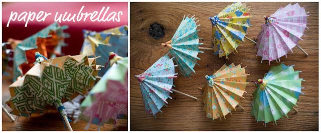 Paper Umbrella Craft for Kids - a Fun Rainy Day Idea - Easy Peasy ... | 266x640
