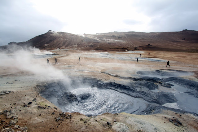 Area geotermica di Hverarond-Lago Myvatn-Islanda