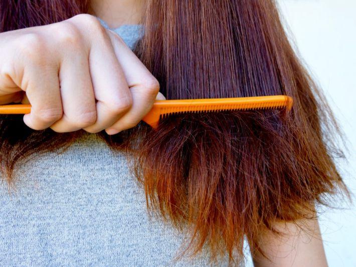 وصفات لكيفية عناية بالشعر بشكل يومي وكما ستساعدك هذه الوصفات بتخلص من تقصف الشعر