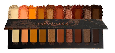 Melt Cosmetics paleta Rust