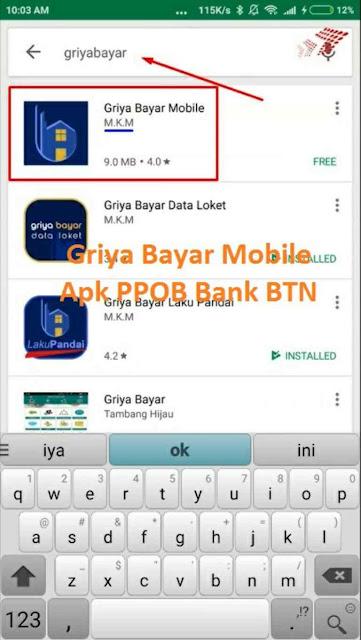 Griya Bayar Mobile Apk PPOB Bank BTN