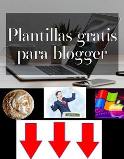 puedes acceder y descargar las plantillas gratis de blogger responsive con sus instrucciones en éste blog de blogger, geek, seo y web