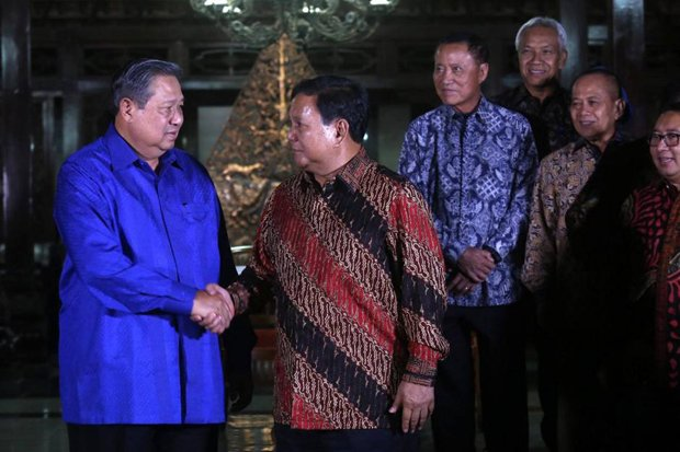 SBY-Prabowo Akan Bertemu, Kans Demokrat-Gerindra Berkoalisi Besar