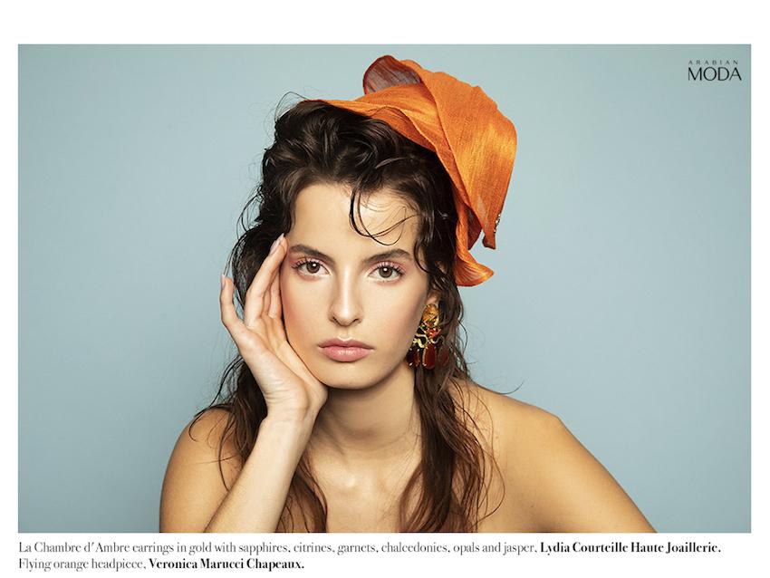 Arabian Moda x Lydia Courteille x Veronica Marucci Chapeaux