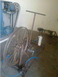 Pedal Operated Water Purifier, pedal powered water purifier