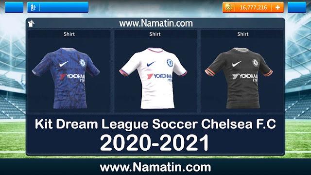 Kit Dream League Soccer Chelsea