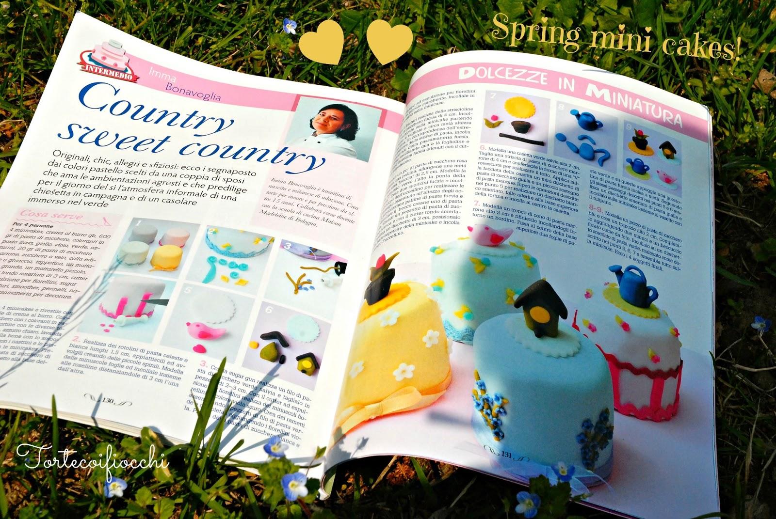 Cucina Chic Cake Design | Un Soffio Di Vento Break Di Primavera