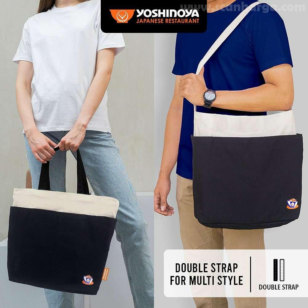 Yoshinoya Premium Canvas Bag harga Spesial hanya 199Ribu 6