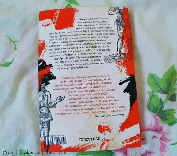 Resenha, livro, Arco-de-virar-réu, Antonio-Cestaro, tordesilhas, opinião, trechos, contracapa, sinopse, loucura