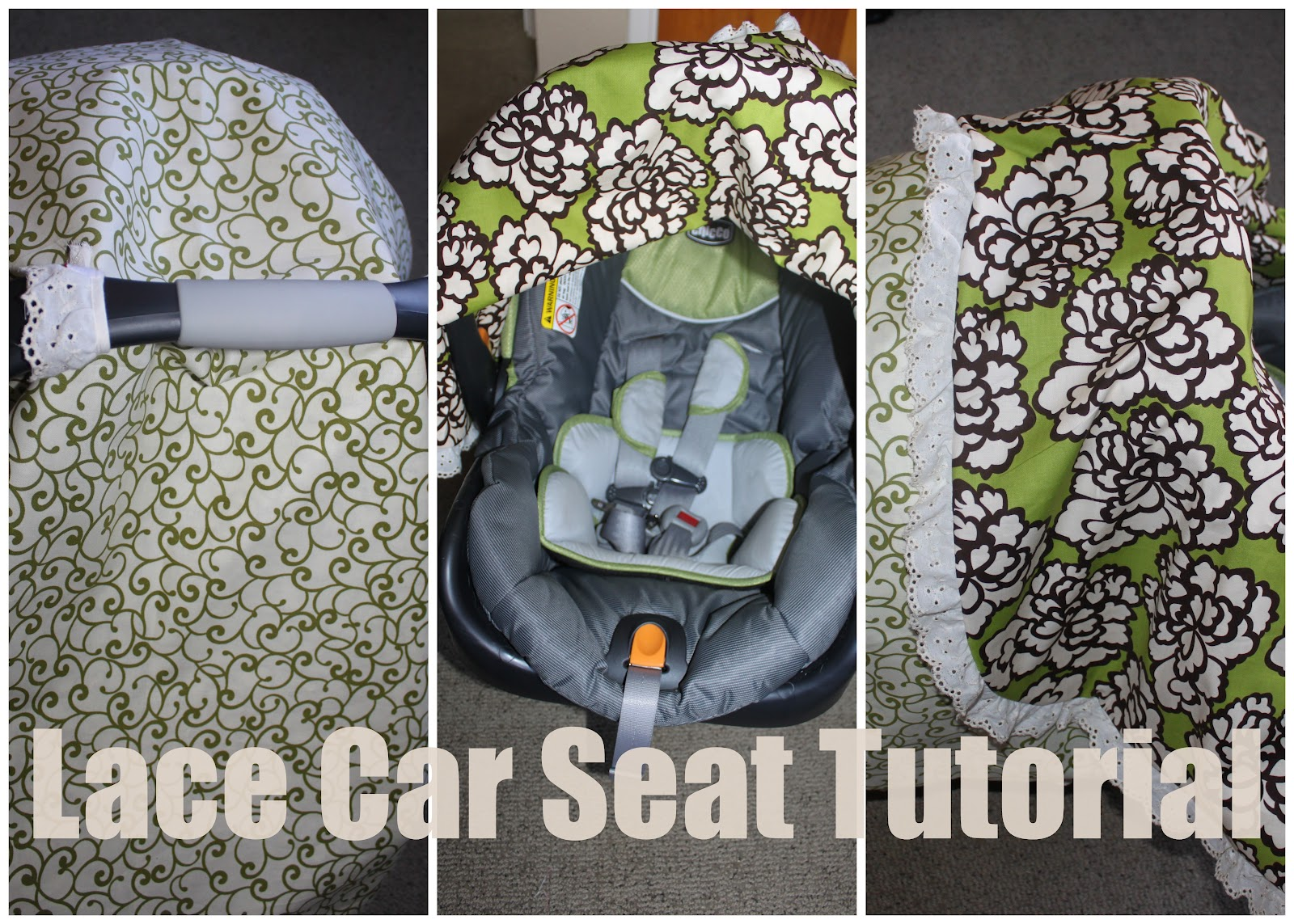 Keeping Up With Us Jones Car Seat Canopy Tutorial