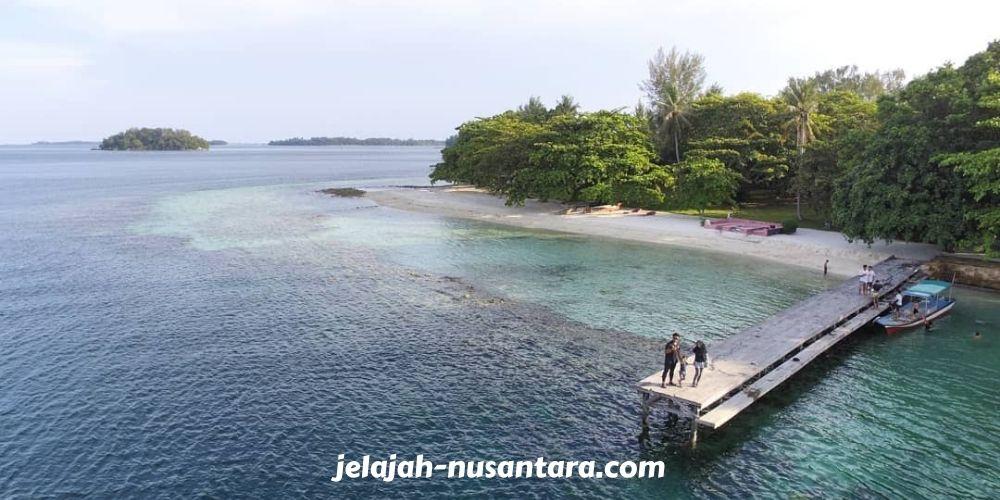 destinasi wisata pulau bulat