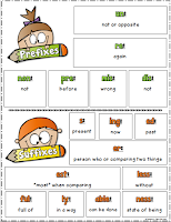 FREE Prefix and Suffix Poster