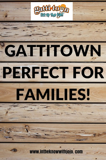 Bring your family of four to Gattitown and pay just $41.99 for 2 Adult Buffets, 2 Kids Buffets and a $20 Game Card!