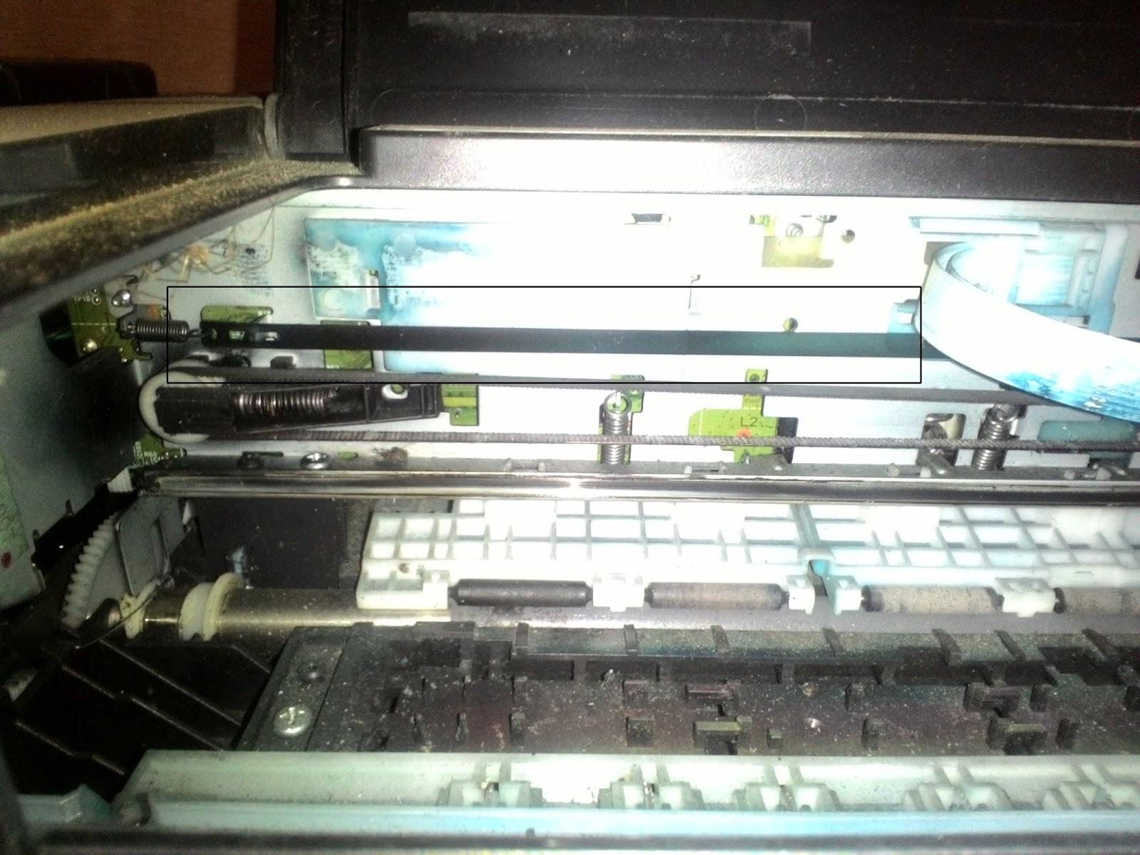 Cara Mengatasi Hasil Cetak Printer Bergaris Vertikal Pusat Tutorial