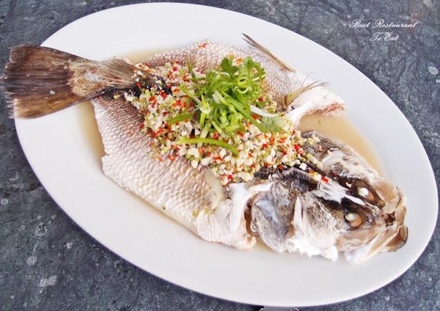 Aroi Dee Thai Restaurant Putrajaya Palm Garden Hotel IOI Resort Thai Style Steamed Fish