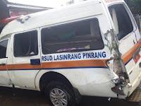 Begini Kronologis Kecelakaan Maut Mobil Ambulance RS. Lasinrang Pinrang di Pangkep