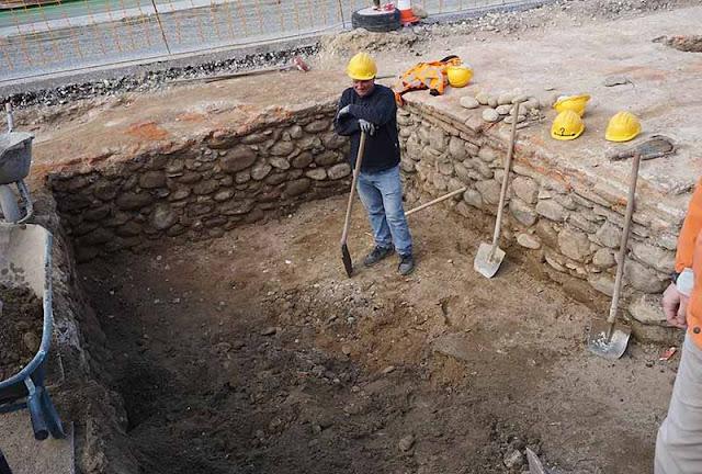 «Αποκαλυπτήρια» του κάστρου που… έπεσε για να χτιστεί δρόμος