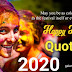 Holi quotes 2020 download for WhatsApp, Facebook, twitter and all social media