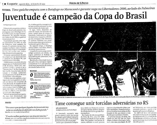 Folha Juventude Copa do Brasil