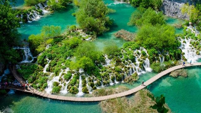 Lagos de Plitvice - Croácia/Reprodução