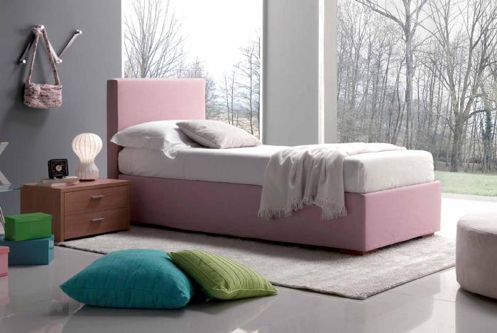 Letti con box contenitore: comfort, praticità e stile | Dettagli ...
