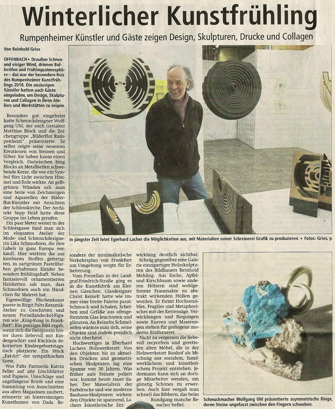Made in rumpenheim pressespiegel for Offenbach kunst