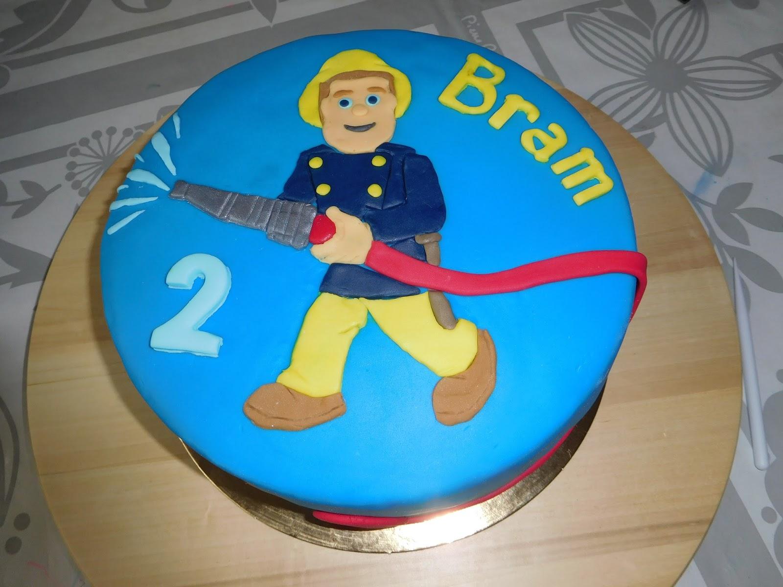 Favoriete Hobbyloes: Brandweerman Sam taart. #BE57