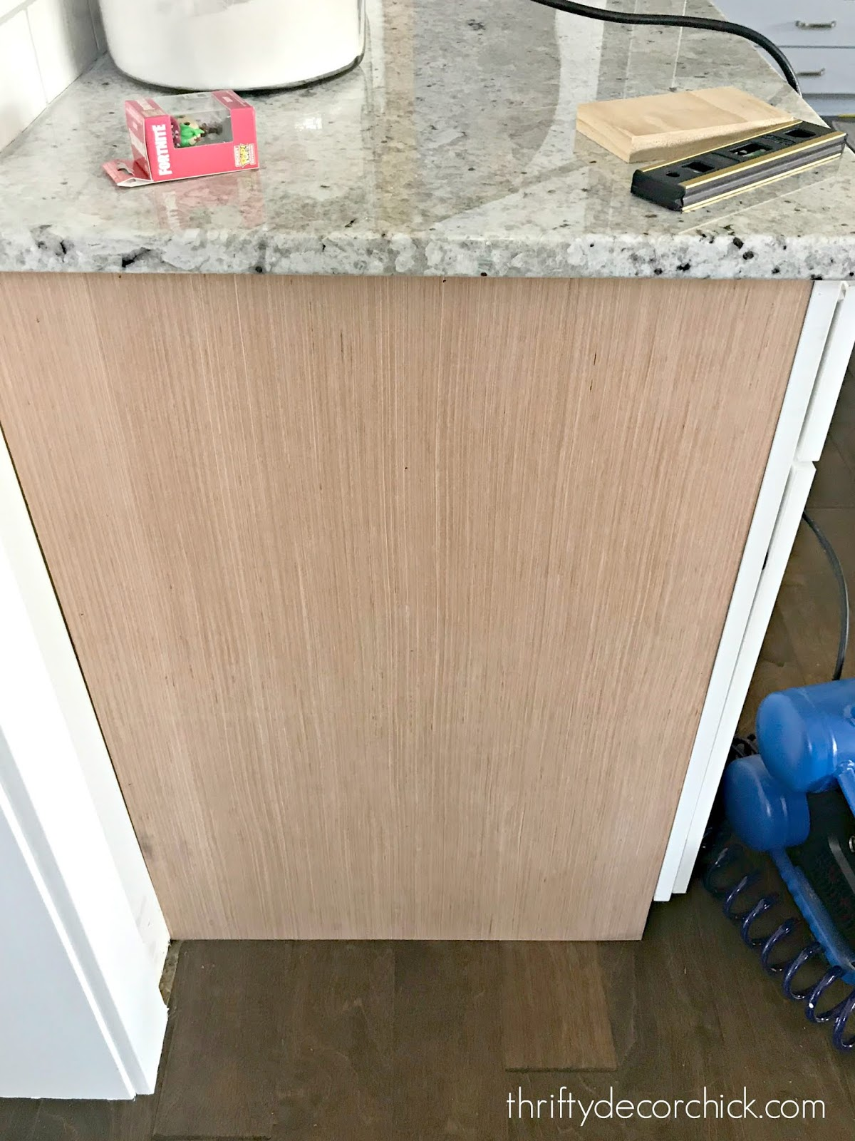 How to upgrade the ends of builder grade cabinets