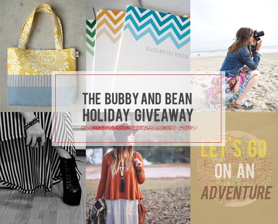 The Bubby and Bean Holiday Giveaway // Win 6 Prizes Worth $270!