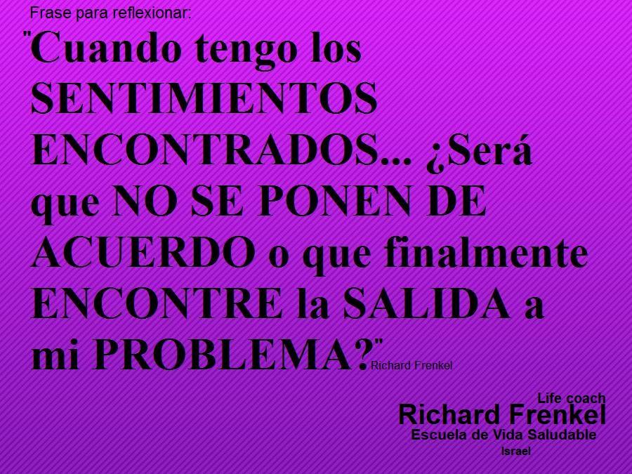 Richard Frenkel Sentimientos Encontrados