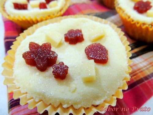Este é um típico Cupcake Mineiro.