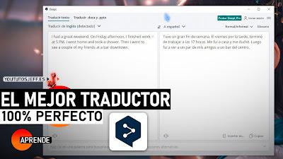 el mejor traductor