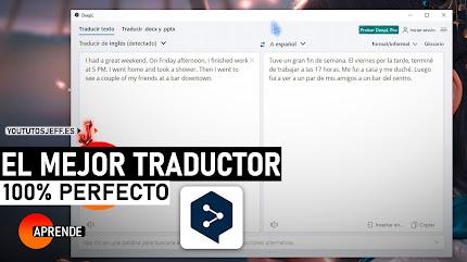 El Mejor Traductor Inteligente   Descargar DeepL GRATIS