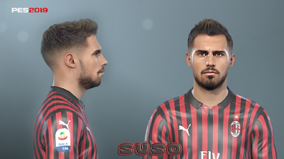 This face can be used for Pro Evolution Soccer  Update, PES 2019 Faces Suso by Prince Hamiz
