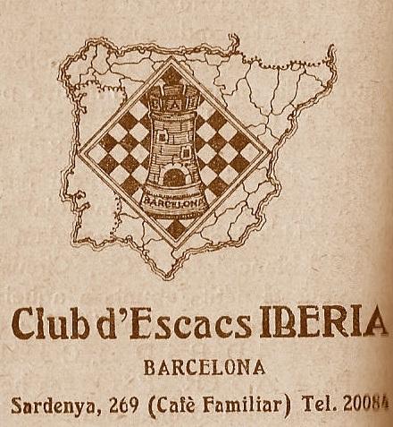 Emblema del Club d'Escacs Iberia